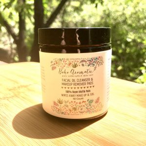 Facial Oil Cleanser & Makeup Remover Pads