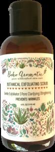 Boho Aromatic, Botanical Exfoliating Scrub