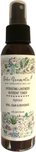 Boho Aromatic, Hydrating Lavender Nutrient Toner