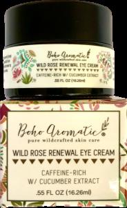 Boho Aromatic, Wild Rose Renewal Eye Cream