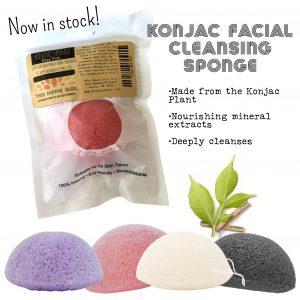 Konjac Exfoliating Plant Based Facial Sponge